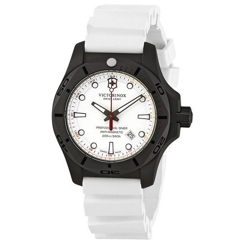 ビクトリノックス/VICTORINOX/腕時計/INOX/プロフェッショナルダイバー/241811/200m防水/ホワイト×ホワイト