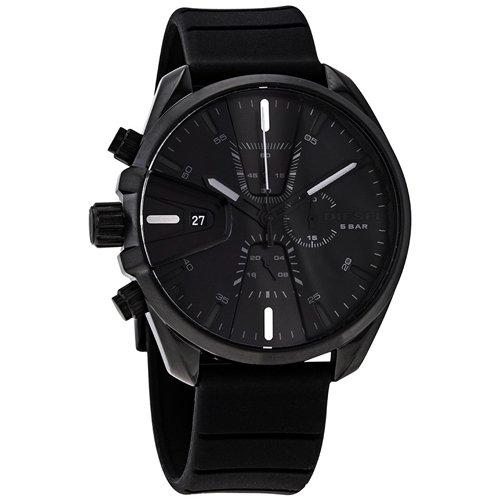 ディーゼル/Diesel/腕時計/MS9/メンズ/DZ4507/クォーツ/クロノグラフ/デイトカレンダー/オールブラック