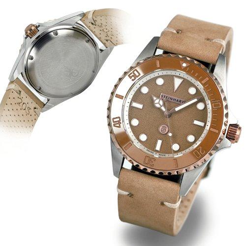 スタインハート/Steinhart/腕時計/オーシャン/OCEAN One 39 beige/ダイバーズウォッチ/メンズ/スイスメイド