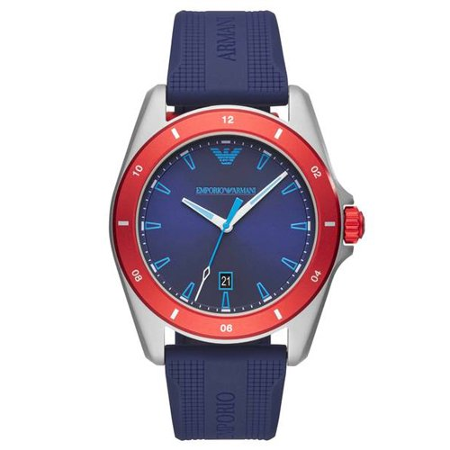 エンポリオアルマーニ/Emporio Armani/腕時計/メンズ/Sigma/シグマ/AR11217/クォーツ/ブルー×ブルー