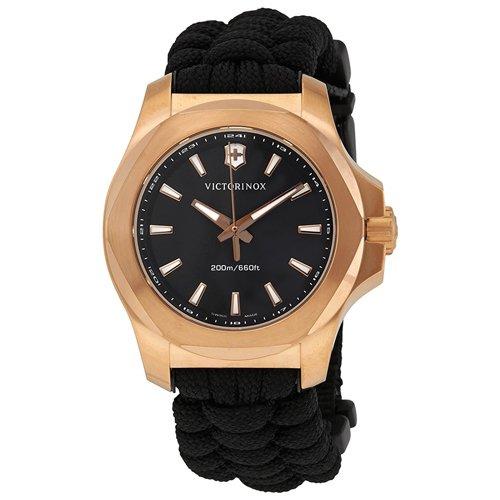 ビクトリノックス/VICTORINOX/腕時計/INOX/INOX V/241880/200m防水/ブラック×ブラック