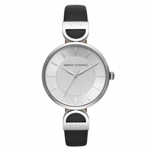 アルマーニエクスチェンジ/Armani Exchange/腕時計/レディース/Brooke/ブルック/AX5323/シルバー×ブラック