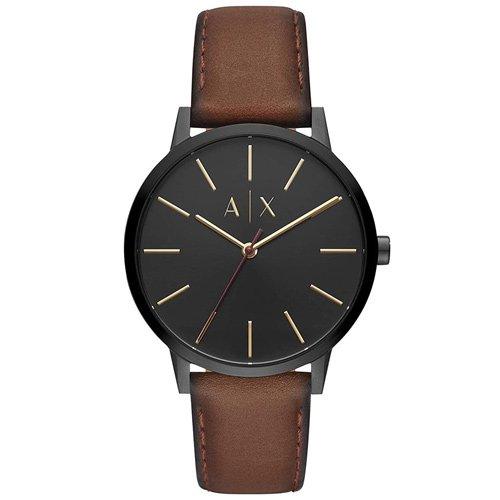 アルマーニエクスチェンジ/Armani Exchange/時計/メンズ/Cayde/ケイド/AX2706/ブラック×ブラウン