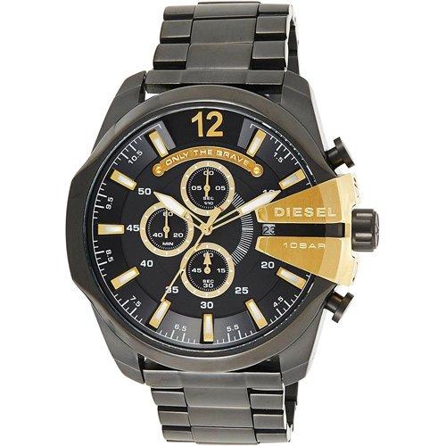 ディーゼル/腕時計/メガチーフ/DZ4338/ブラック×ブラックステンレススチール