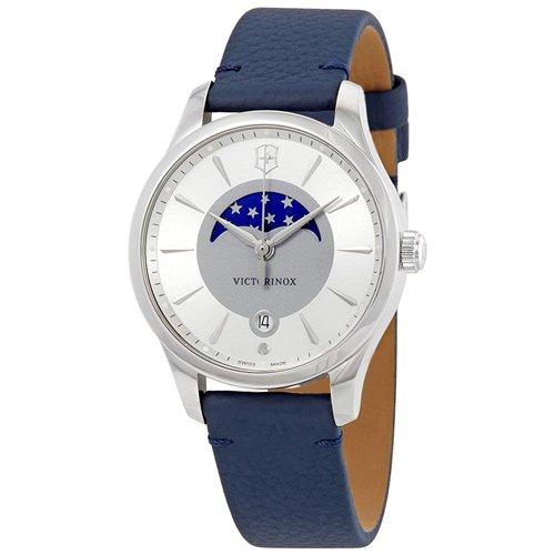 ビクトリノックス/VICTORINOX/腕時計/レディース/Alliance/241832/100m防水/シルバー×ブルーレザー