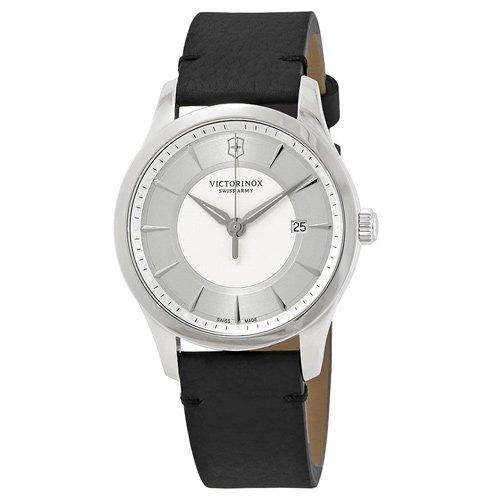 ビクトリノックス/VICTORINOX/腕時計/Alliance/メンズ腕時計/241823/100m防水/シルバー×ブラック