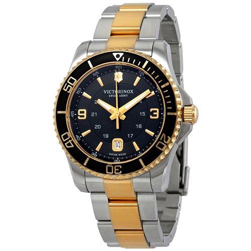 ビクトリノックス/VICTORINOX/腕時計/Maverick/241824/100m防水/ブラック×ツートーン