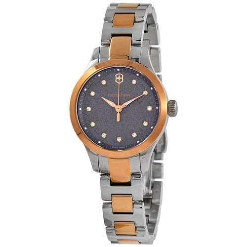 ビクトリノックス/VICTORINOX/腕時計/レディース/Alliance/241876/100m防水/グレー×ツートーン