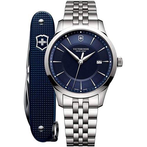 ビクトリノックス/VICTORINOX/腕時計/Alliance/メンズ腕時計/241802.1/100m防水/ブルー×シルバー