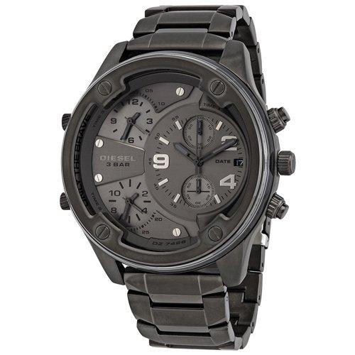 ディーゼル/時計/Diesel/メンズ腕時計/DZ7426/ボルトダウン/Boltdown/ガンメタル/ガンメタルベルト