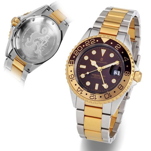 スタインハート/Steinhart/腕時計/オーシャン/Ocean 1 GMT Two-tone Chocolate/ダイバーズウォッチ/メンズ/スイスメイド