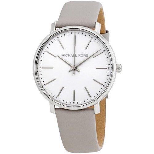 マイケルコース/Michael Kors/腕時計/レディース/PYPER/パイパー/MK2797/ホワイト×グレーレザー