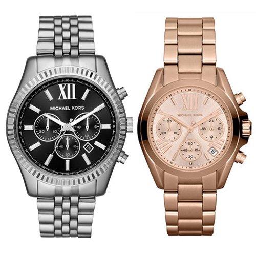 マイケルコース/Michael Kors/メンズ腕時計/レディース腕時計/ペアウォッチ/MK8602/MK5799/シルバー/ピンクゴールド
