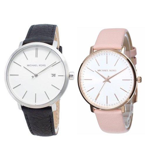 マイケルコース/Michael Kors/メンズ腕時計/レディース腕時計/ペアウォッチ/MK8674/MK2741/ブラック/ピンク