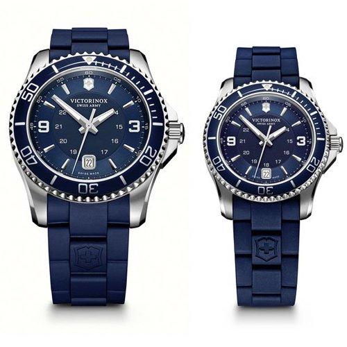 Victorinox/ビクトリノックス /腕時計/ペアウォッチ/マーベリックGS/241603/241610/ブルー×ブルー