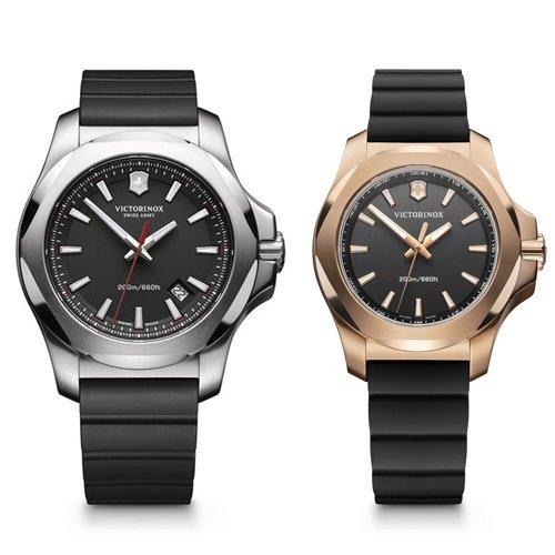 ビクトリノックス/VICTORINOX/腕時計/ペアウォチ/INOX/241682.1/241808/200m防水/ブラック