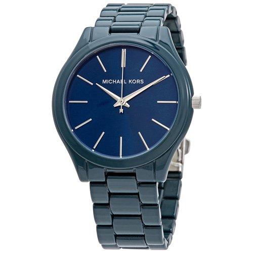 マイケルコース/Michael Kors/腕時計/レディース/SLIM RUNWAY/スリムランウェイ/MK4416/ブルー×ブルー