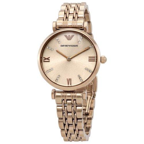 エンポリオアルマーニ/Emporio Armani/腕時計/レディース/GIANNI T-BAR/ジャンニAR11059/クォーツ/ローズゴールド