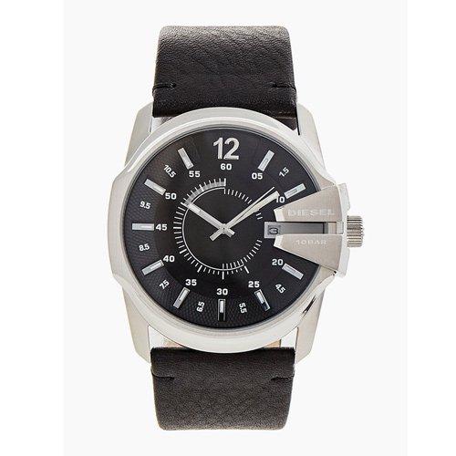 ディーゼル/腕時計/マスターチーフ/DZ1907/ブラック×ブラックレザー