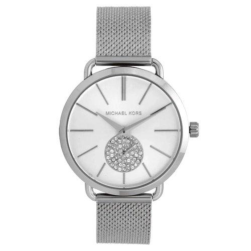 マイケルコース/腕時計/レディース/Portia|ポーシャ/MK3843/シルバー&クリスタル