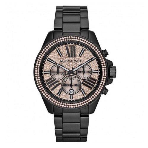 マイケルコース/腕時計/レディース/Wren|レン/MK5879/ローズゴールド×ブラックベルト