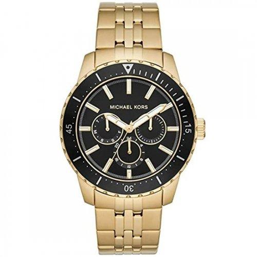 マイケルコース/腕時計/メンズ/Cunningham|カニナム/MK7154/ブラック×ゴールドベルト