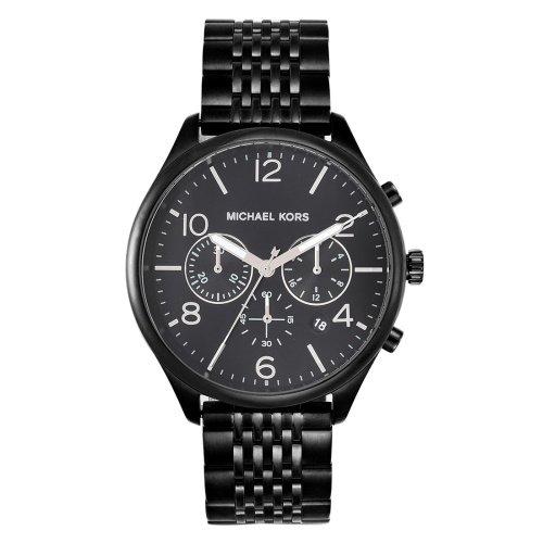 マイケルコース/腕時計/メンズ/Merrick|メリック/MK8640/ブラック×ブラックベルト
