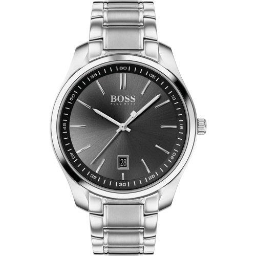 ヒューゴボス/腕時計/メンズ/Circuit|サーキット/1513730/ブラック×シルバーステンレスベルト