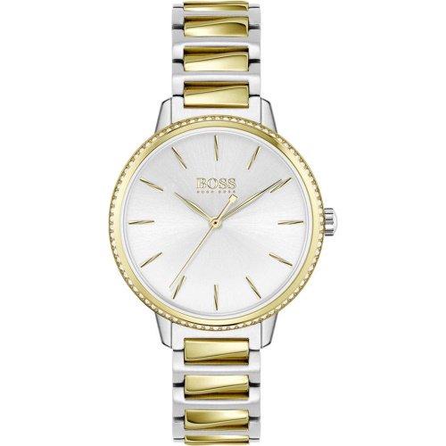 ヒューゴボス/腕時計/レディース/Signature|シグネチャー/1502568/シルバー×ツートンカラーステンレスベルト