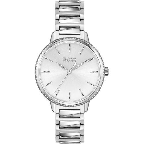ヒューゴボス/腕時計/レディース/Signature |シグネチャー/1502539/シルバー×シルバーステンレスベルト