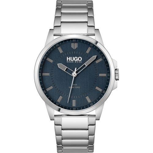 ヒューゴボス/腕時計/メンズ/First  ファースト/1530186/ブルー×シルバーステンレスベルト