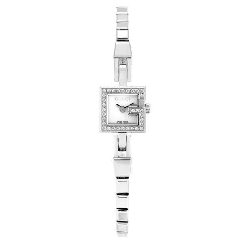 グッチ/腕時計/レディース/101|101/YA102541/ダイヤモンド/マザーオブパール×シルバーステンレスベルト