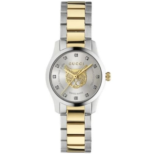 グッチ/腕時計/レディース/G-Timeless|G-タイムレス/YA1265016/ダイヤモンド/ツートンカラー×ツートンカラーステンレスベルト