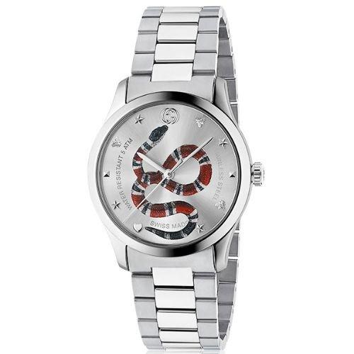 グッチ/腕時計/ユニセックス/G-Timeless|G-タイムレス/YA1264076/シルバー×シルバーステンレスベルト