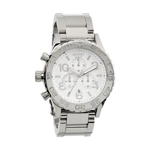 ニクソン 腕時計 42-20 A037945 ホワイト×シルバー