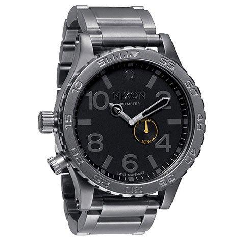 ニクソン 腕時計  51-30 A057-680 タイドグラフ ブラック×ガンメタル
