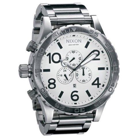 ニクソン 腕時計  51-30 A083-100 ホワイト×シルバー