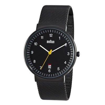 ブラウン|Braun 時計/BN0032BKBKMHG/ブラック×ブラックメッシュベルト