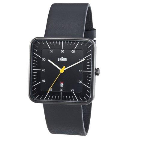 ブラウン|Braun 時計/BN0042BKBKG/ブラック×ブラックレザーベルト