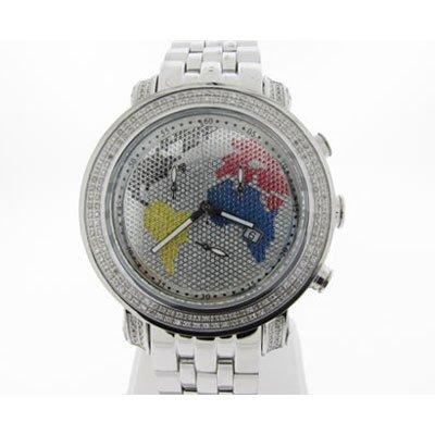 ジョーロデオ 腕時計 JTY10  タイラー クロノグラフ 1,90 カラット ダイヤモンドウォッチ