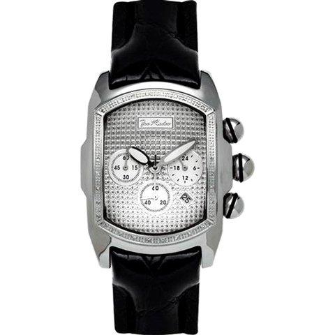 ジョーロデオ 腕時計 キング JKI29 シルバー×ブラックレザーベルト