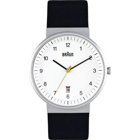 ブラウン|Braun 時計/BN0032WHBKG/ホワイト×ブラックレザーベルト