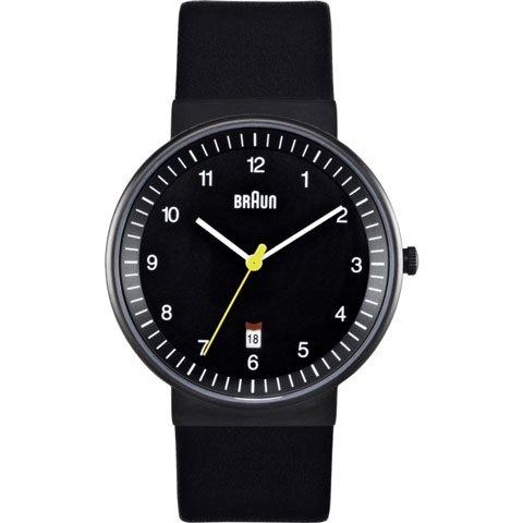 ブラウン|Braun 時計/BNH0032BKBKG/ブラック×ブラックレザーベルト
