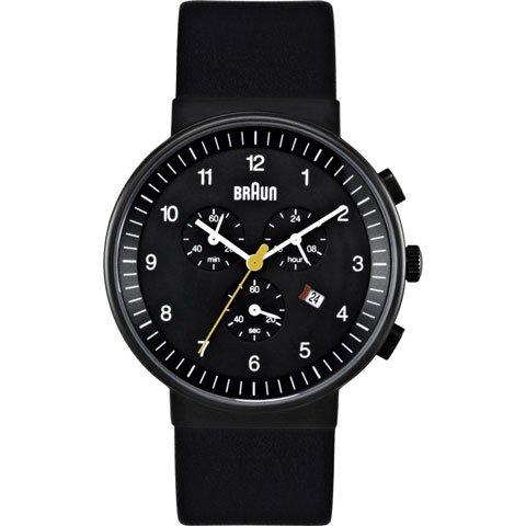 ブラウン|Braun 時計/BN0035BKBKG/ブラック×ブラックレザーベルト