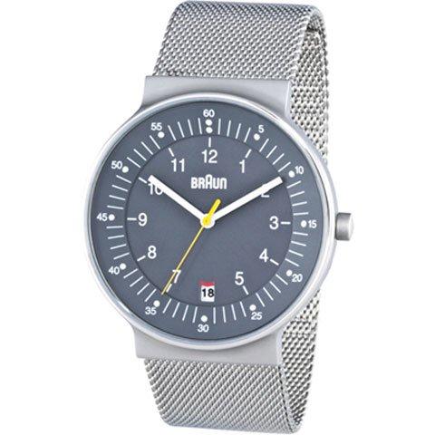 ブラウン|Braun 時計/BN0082GYSLMHG/グレー×シルバーメッシュベルト