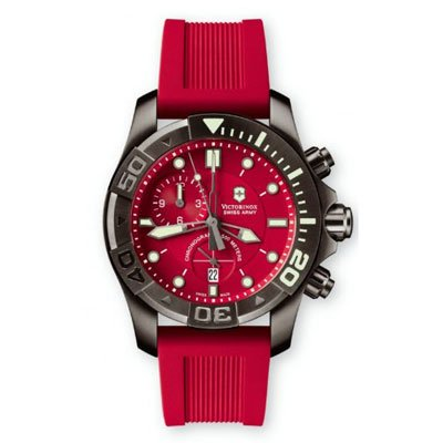 ビクトリノックス 腕時計 ダイブマスター500 241422 レッド×レッド
