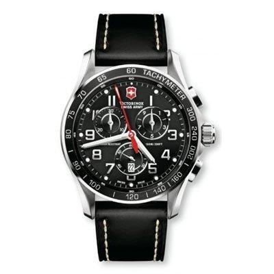 ビクトリノックス 腕時計 クロノクラシック 241444 ブラック×ブラック