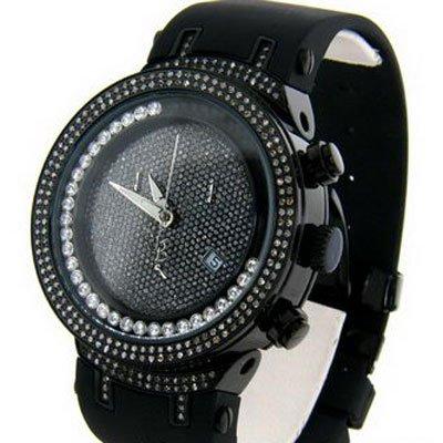 ジョーロデオ 腕時計 ダイヤモンドマスター ブラック 天然ダイヤモンド 2.20ct JJMS-6