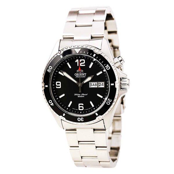 オリエント 腕時計 CEM65001B オートマチック ダイバーズウォッチ ブラック×ステンレススチールベ…