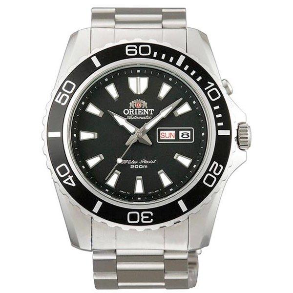 オリエント 腕時計 CEM75001B オートマチック ブラック×ステンレススチールベルト